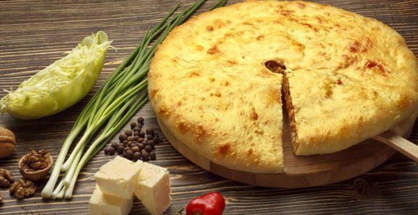 Кадындзджин - Осетинский пирог с луком