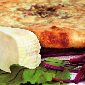Цахараджин – Осетинский пирог со свекольной ботвой и сыром заказать с доставкой в Москве