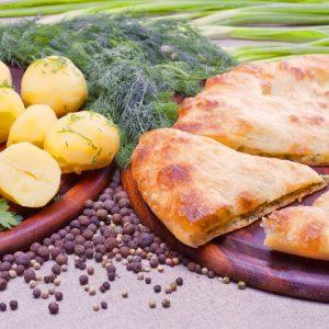 Осетинский пирог с картофелем заказать с доставкой в Москве